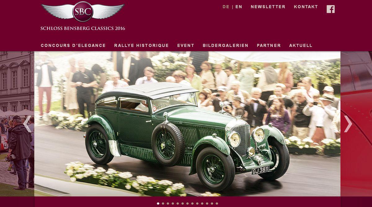 Relaunch für die Schloss Bensberg Classics