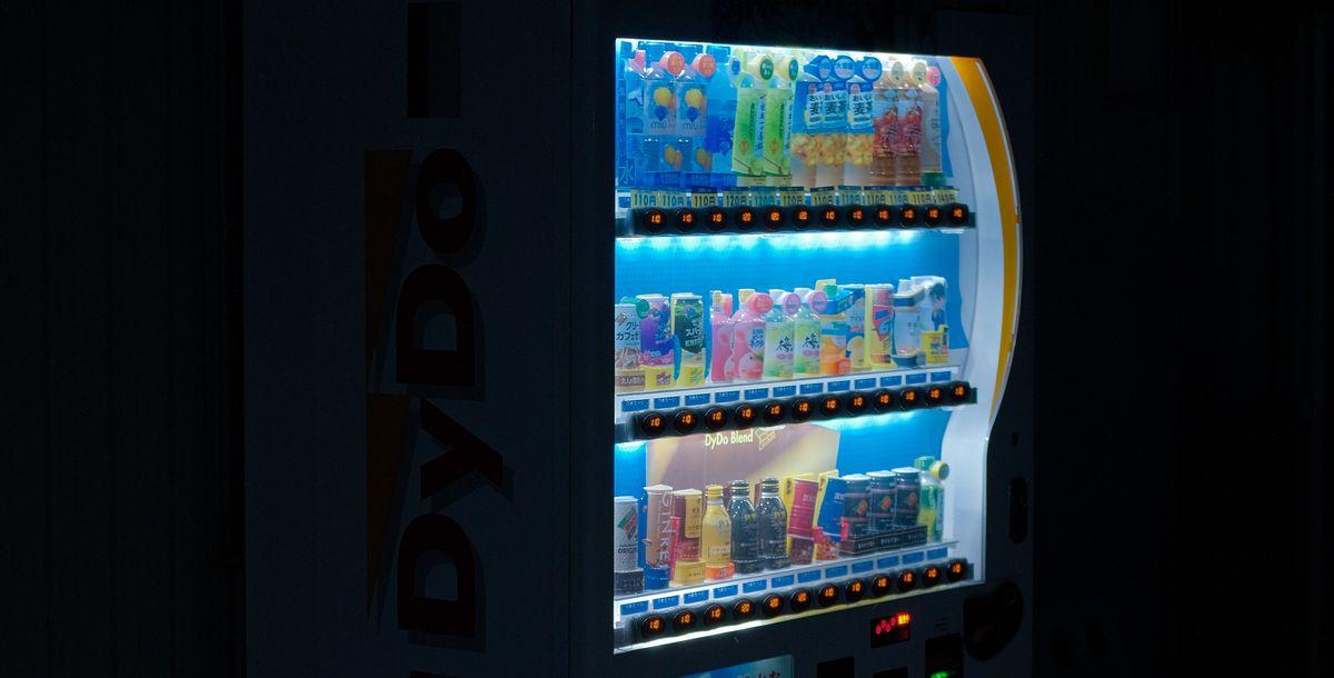 Automaten: Vom Champagner bis zum Spielen