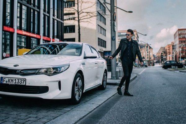 Street Style: Kia Optima Plug-In Hybrid