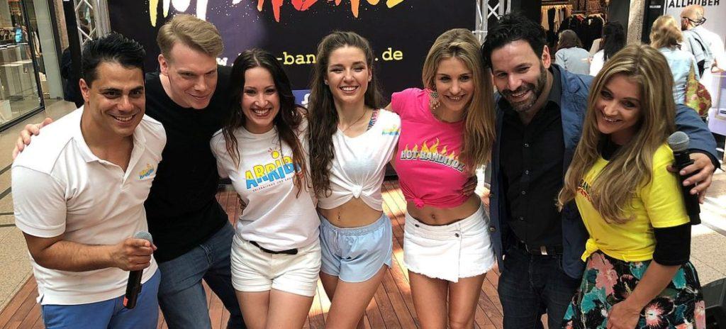 Oh, la la: Girl-Casting bei den Hot Banditoz