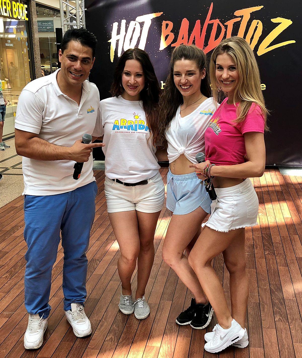 Silva Gonzalez, Melissa Smolka, Franziska Wagner, Stefanie Schanzleh