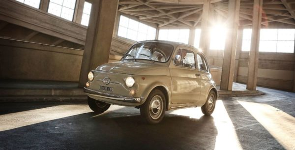 Fiat 500 goes Museum of Modern Art