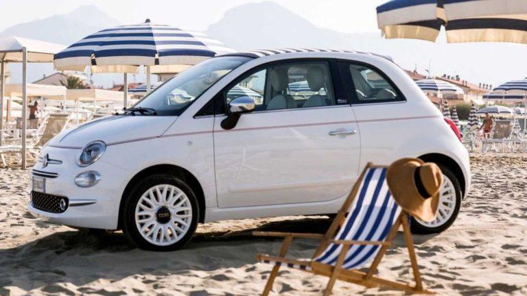 Mit Influencern zur Premiere des Fiat 500 Dolcevita