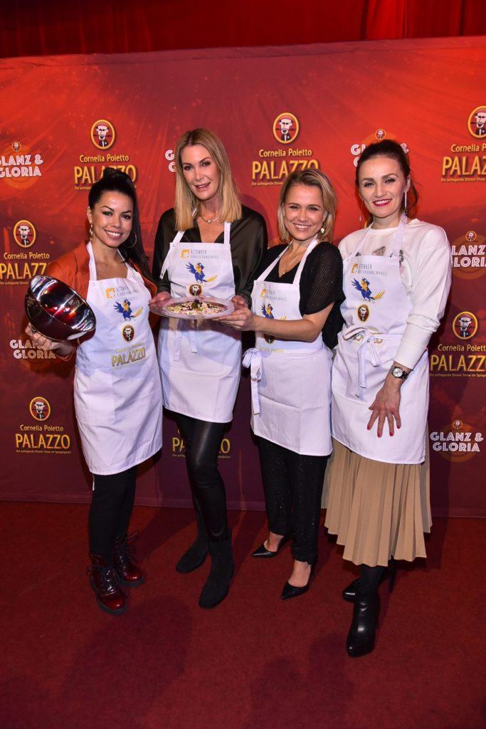 Fernanda Brandao, Kirsten Roschlaub, Nova Meierhenrich, Ina Menzer (ddp images)