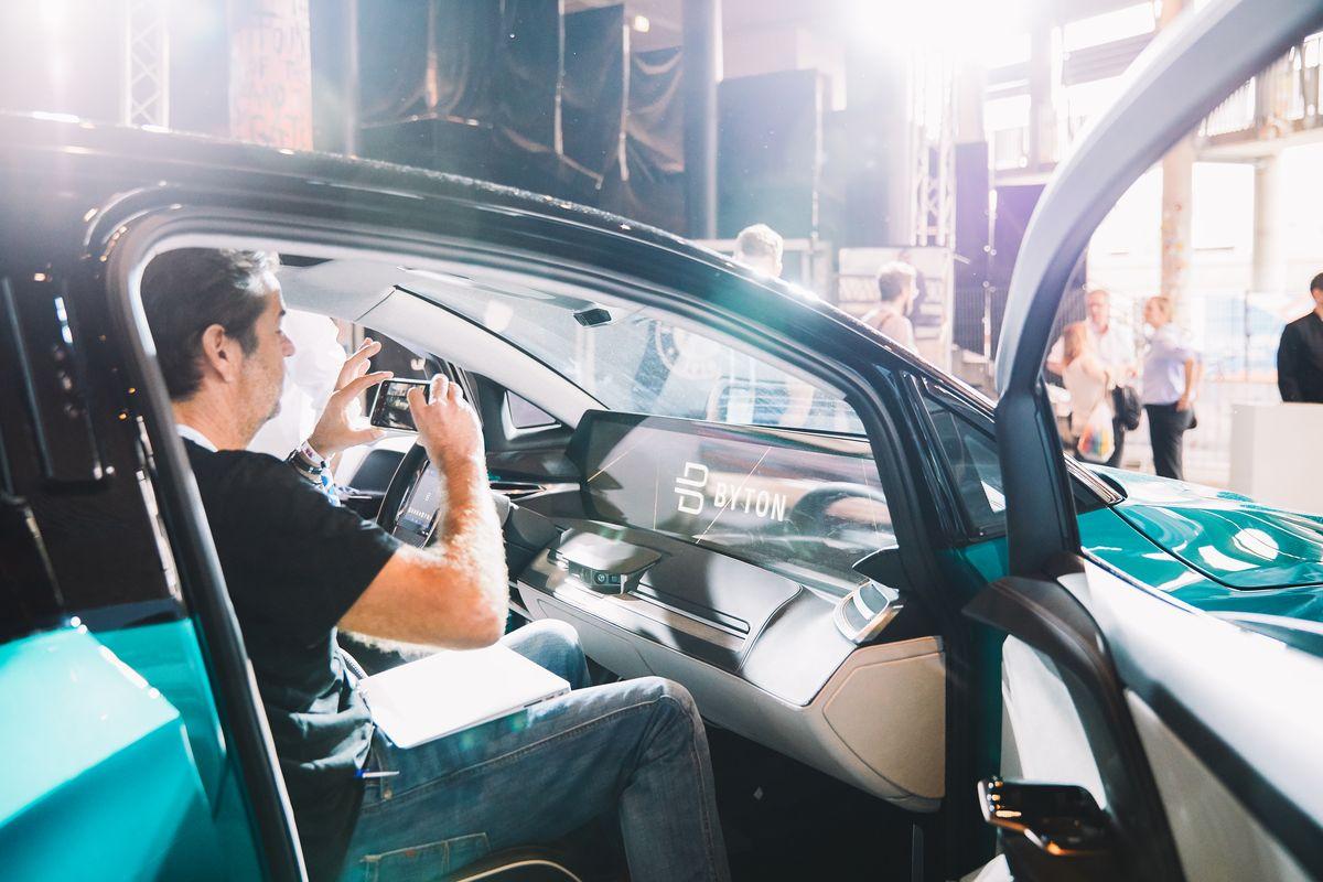 Byton stellte ein Concept Car vor