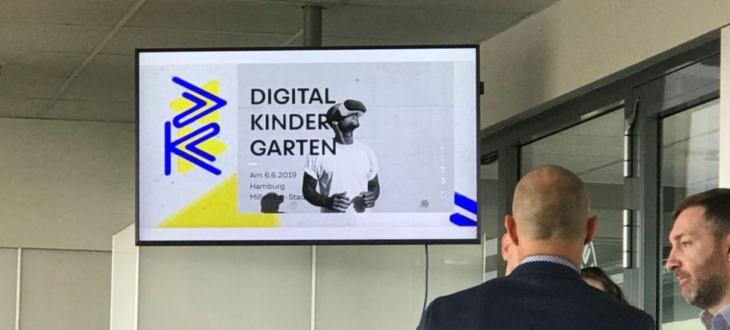 Startschuss für den Digital Kindergarten