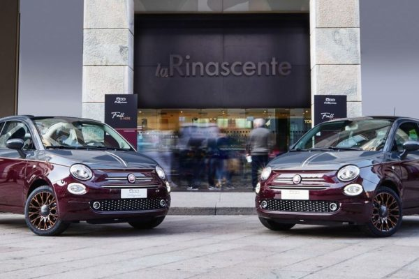 L'Uomo Vogue und Fiat: Fashion-Event in Mailand