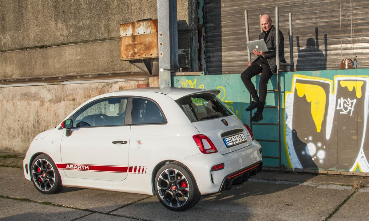 KarlsWrong, Abarth 595 Competizione, Jan-Christopher Sierks