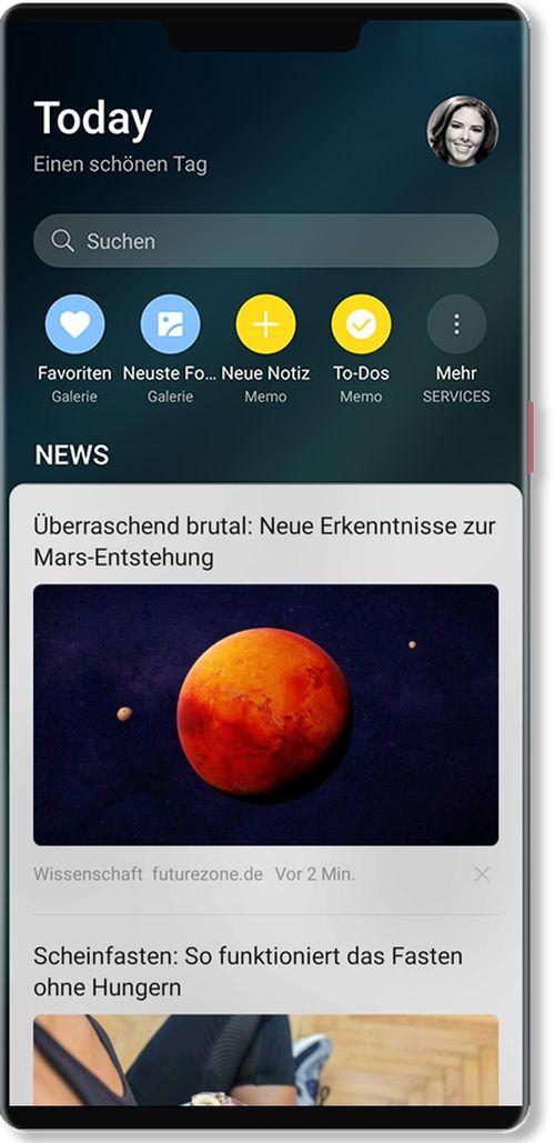Squid App: News auf Huawei-Smartphones