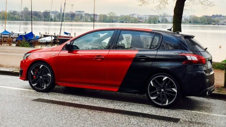 Peugeot 308 GTi: Löwe im Dauerregen
