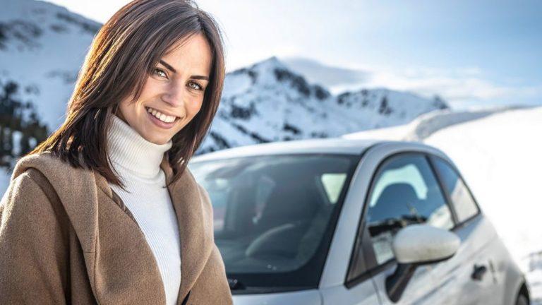 Abarth: Winter-Drive in Österreich