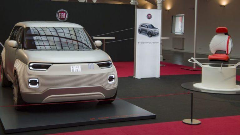 Das Fiat Concept Centoventi