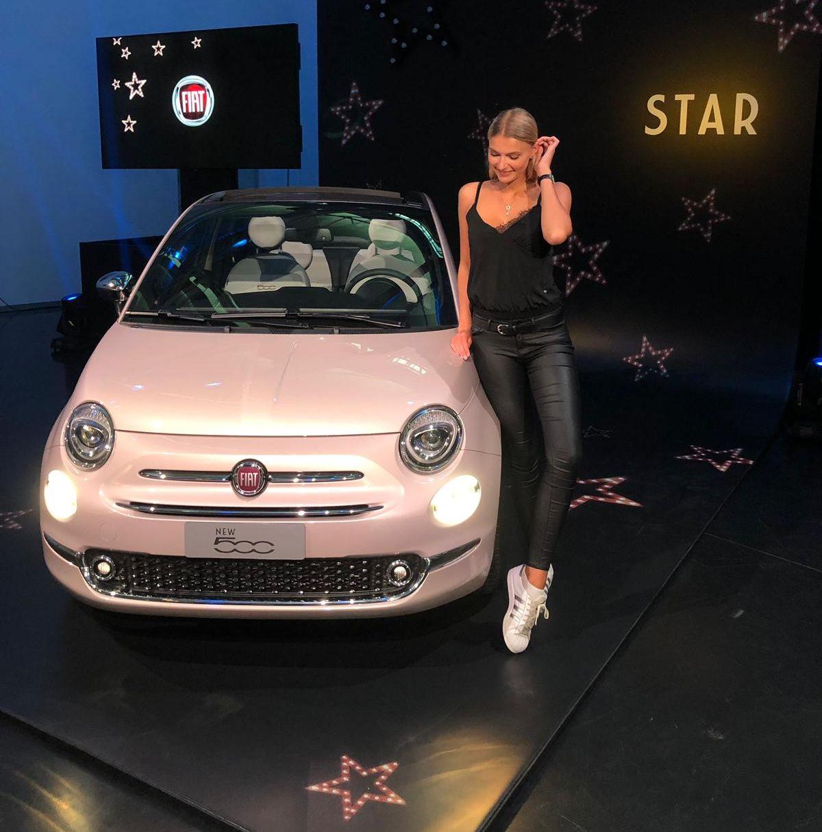 Jolina Fust, Fiat 500 Star