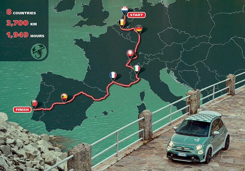 Europatour: 1.949 Stunden im 695 70° Anniversario