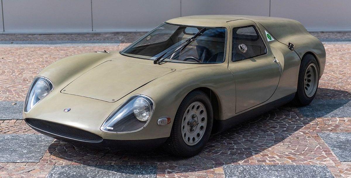 Der Alfa Romeo Scarabeo zeigt sich