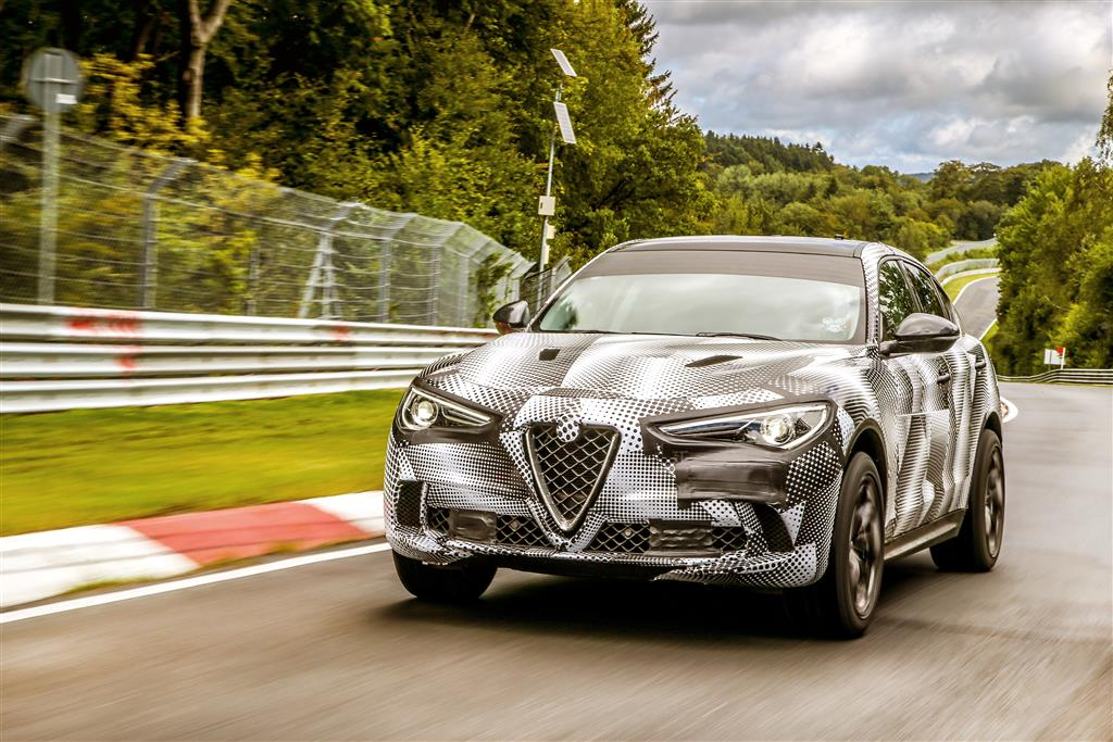 Alfa Romeo Stelvio Quadrifoglio: Rekord auf der Nordschleife