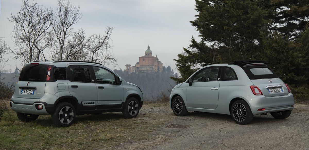 Fiat Panda Hybrid, Fiat 500 Hybrid