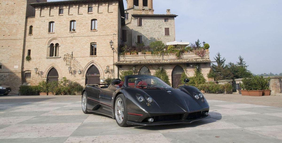 Getestet: Pagani Zonda F Roadster