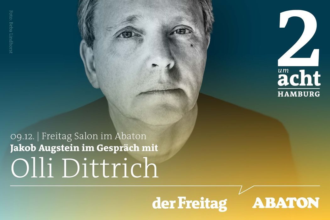Jakob Augstein im Gespräch mit dem Komiker Olli Dittrich