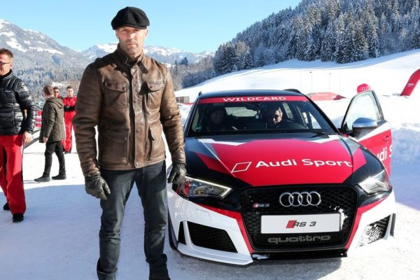 Rückblick: Mit Jason Statham bei Audi
