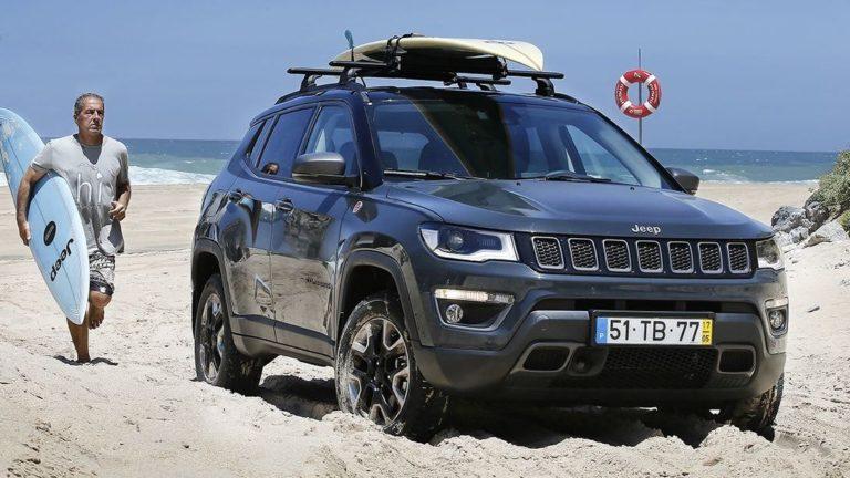 Jeep surft weiter