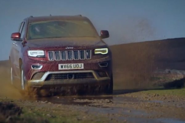 Jeep-Werbespot mit Me, Myself and I