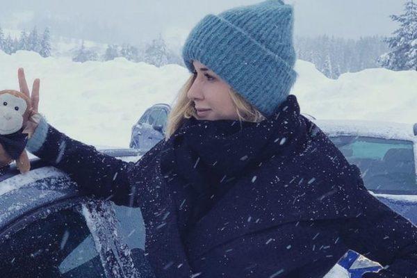 Mit Influencerin Lindarella im Schnee