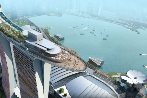 Getestet: Marina Bay Sands Hotel in Singapur