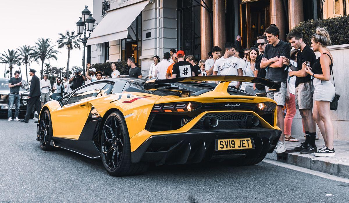 Der tägliche Luxusauto-Wahnsinn in Monaco.