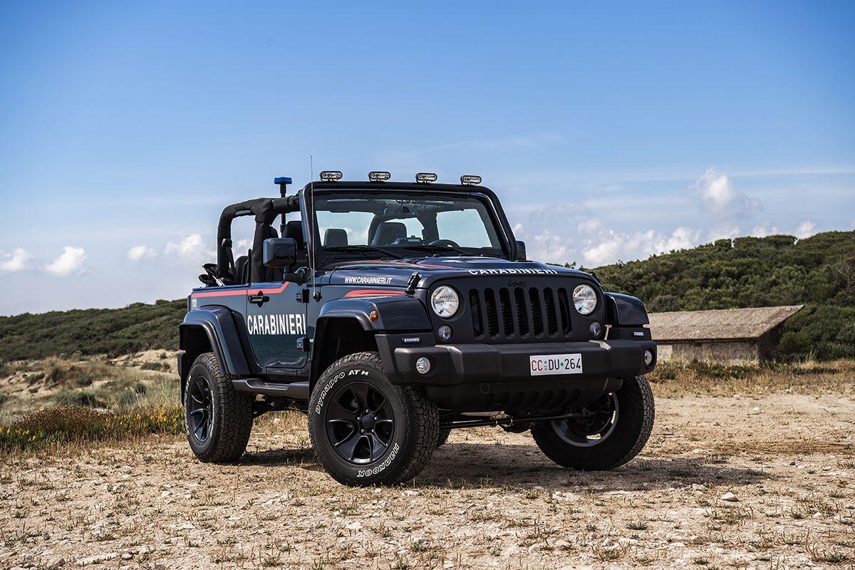 Jeep Wrangler, Carabinieri Edition