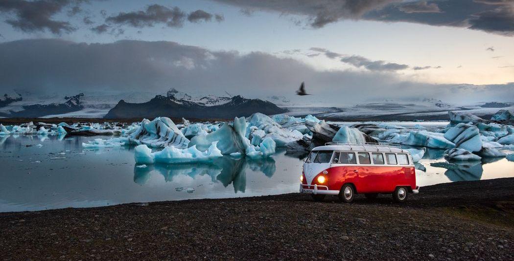Foto-Journalist war mit dem Bulli auf Island