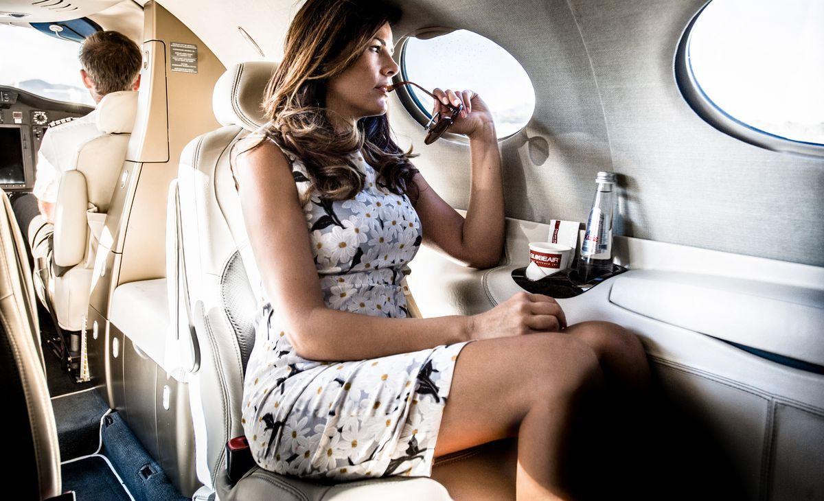 GlobeAir: In einem Business Jet gibt es mehr Bewegungsfreiheit, weniger Ansteckungsgefahren und ein exklusiveres Flugerlebnis.
