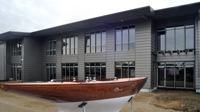 Das Robbe & Berking Yachting Heritage Centre in Flensburg