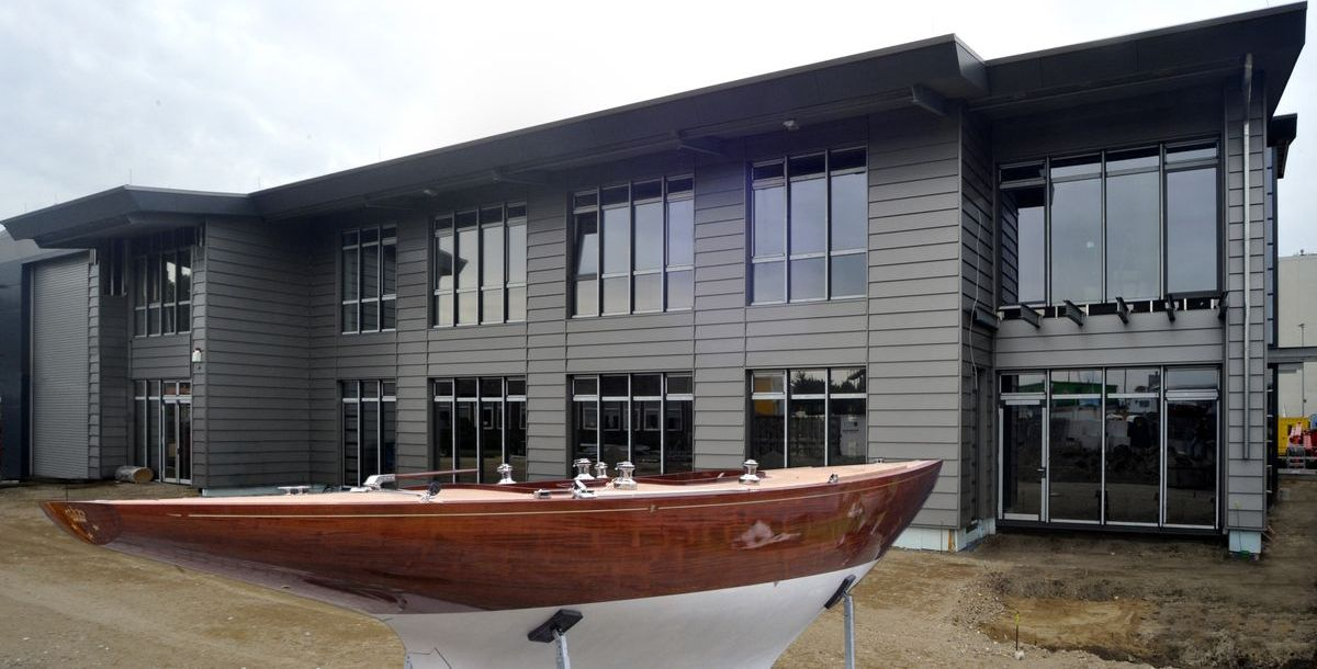 Das Robbe & Berking Yachting Heritage Centre in Flensburg