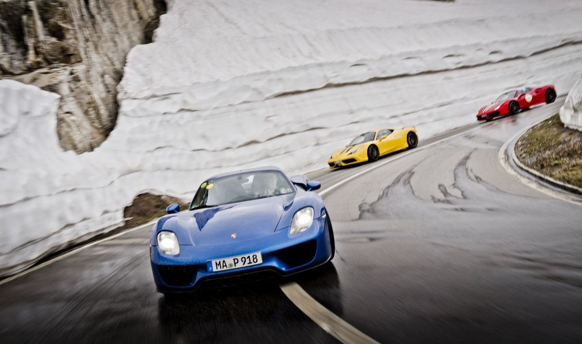 Driving Alps: Highlight-Event