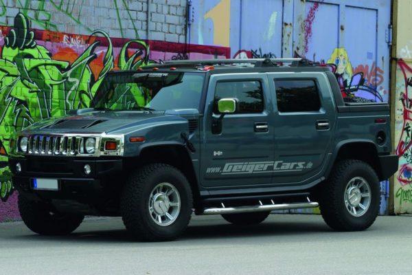 Gelesen: Hummer H2 – King Size America