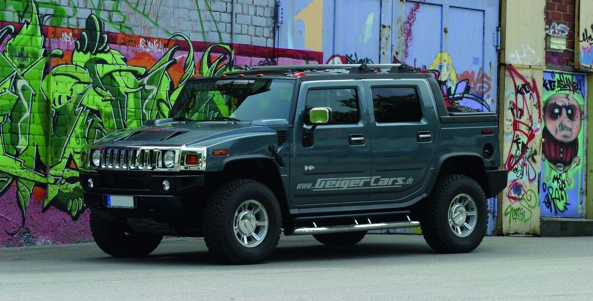 Gelesen: Hummer H2 - King Size America