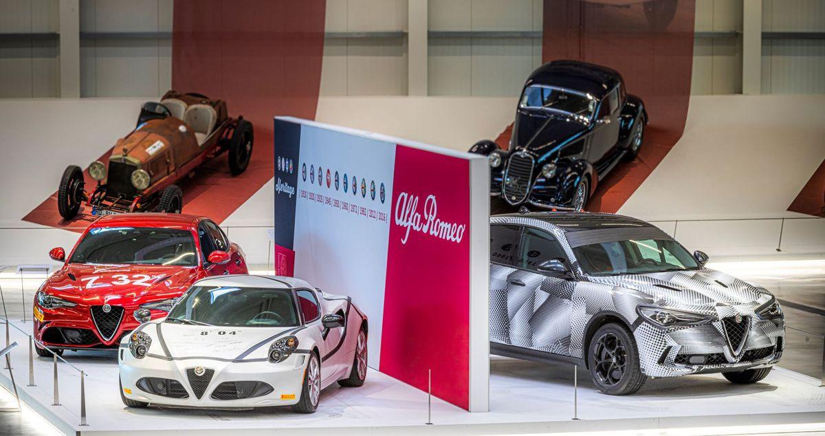 """Neuzugänge bei """"Mythos Alfa Romeo"""" im Technik Museum Sinsheim: Drei Nordschleifen-Rekordfahrzeuge ergänzen Sonderausstellung."""