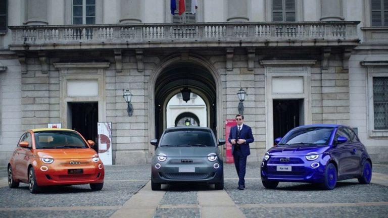 Armani, Bvlgari und Kartell designen einzigartige Fiat 500