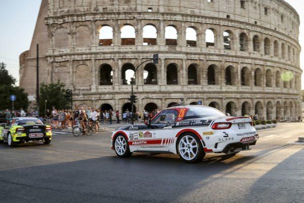 Abarth Rally Cup und ERC: Kann wieder losgehen…