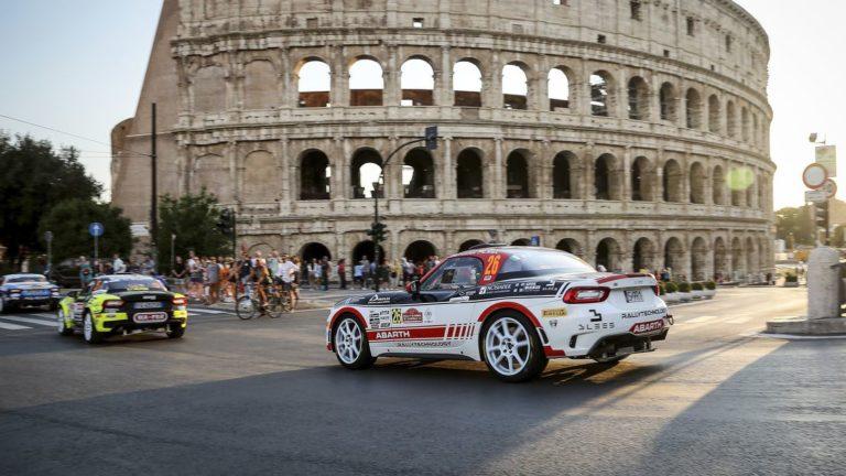 Abarth Rally Cup und ERC: Kann wieder losgehen...