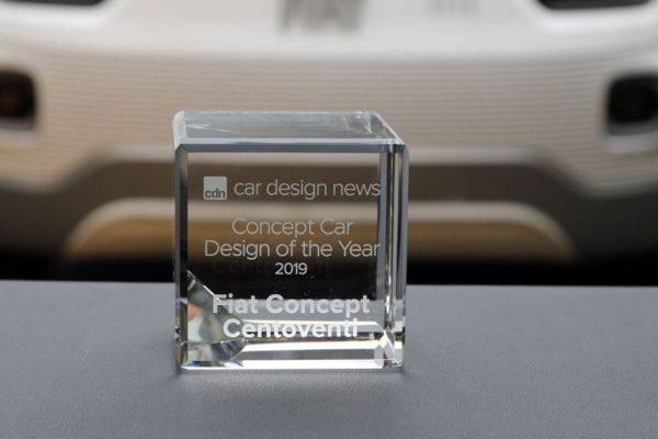 Car Design Award: Der Fiat Centoventi ist bestes Konzeptfahrzeug