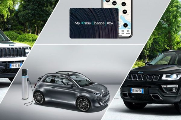 Fiat Chrysler Automobiles und Digital Charging Solutions laden Elektroautos