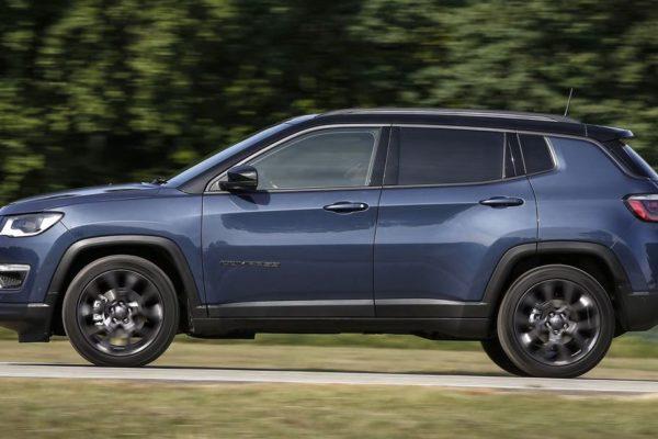 Der Jeep Compass erhält Updates bei Technologie und Konnektivität