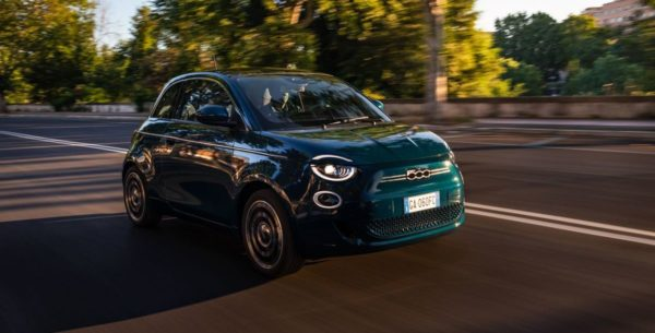 La Prima: Fiat 500 als Elektro-Limousine