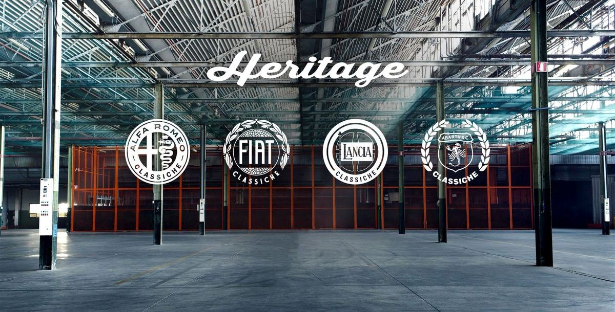 FCA Heritage mit Profilen bei Instagram und Facebook