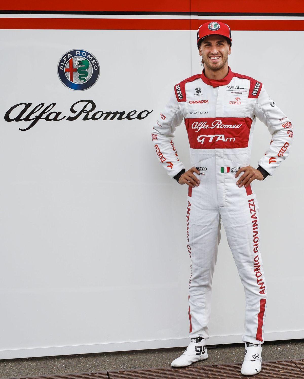 Antonio Giovinazzi trägt GTAm