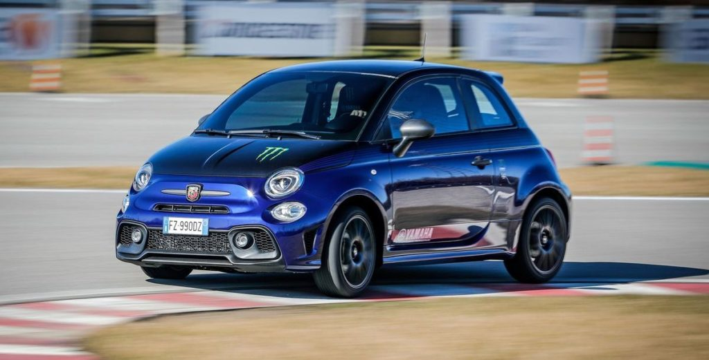 Sonderserie: Abarth 595 Monster Energy Yamaha