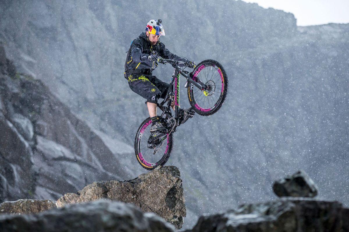Markus Greber ist für spektakuläre Bike-Fotos bekannt.