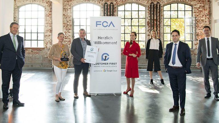 """FCA: Handelspartner erhalten """"Customer First Award for Excellence"""""""